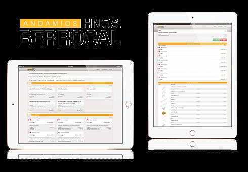 Plataforma de consulta y gestión de obras y albaranes